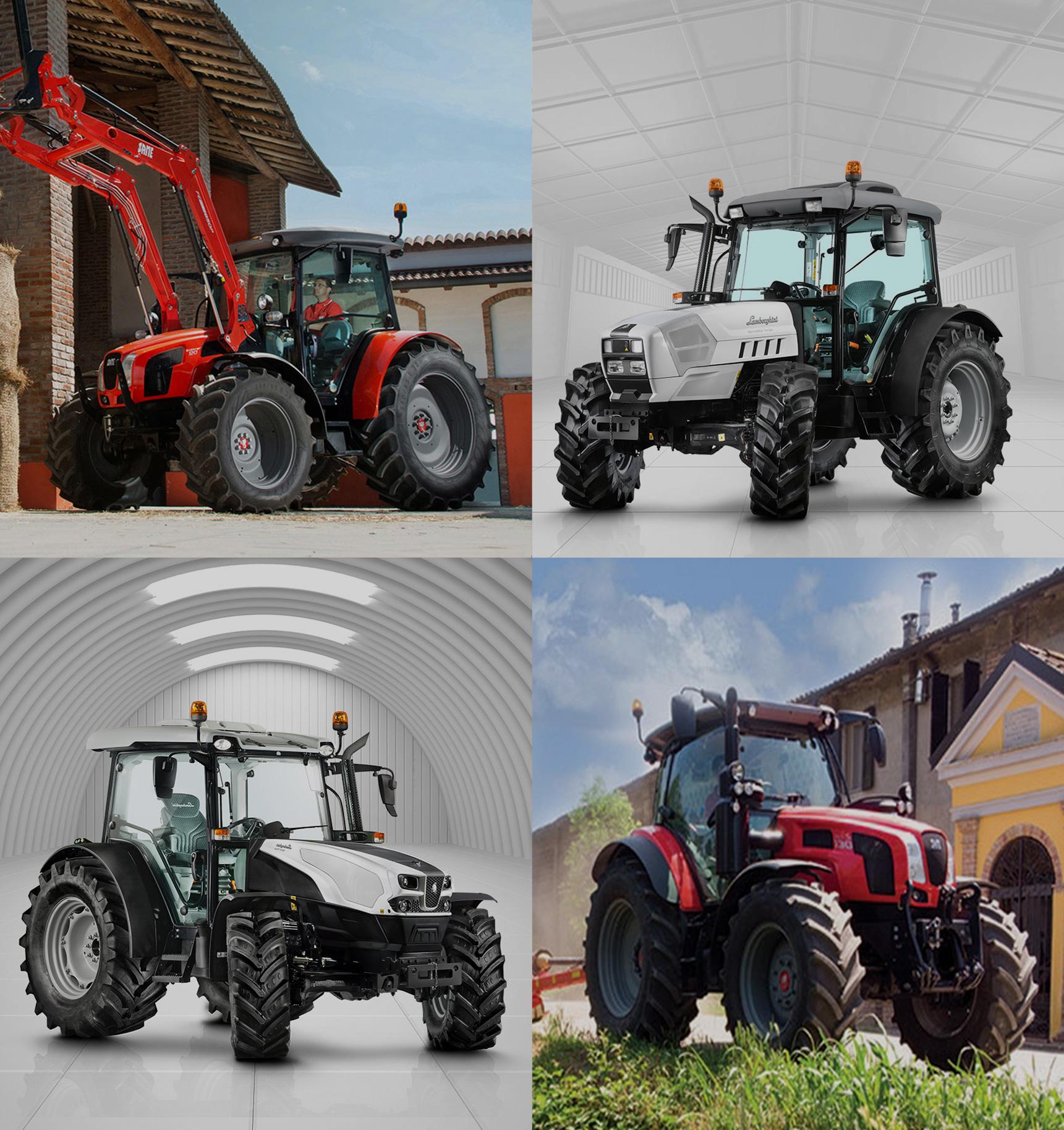 Agrolabor Altiplano trabaja con las mejores marcas del sector. Destacan Same, Lamborghini, Deutz-Fahr y Topavi