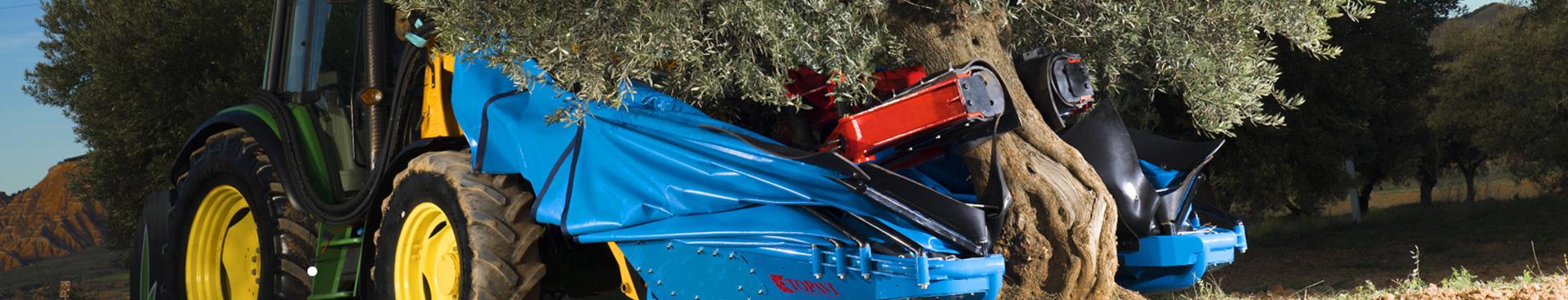 Catálogo de tractores Topavi. Venta de maquinaria agrícola Topavi