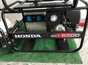 Se vende generador Honda ECT 6500.