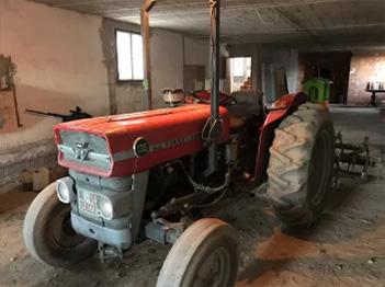 Se vende tractor Massey Ferguson 135 simple tracción