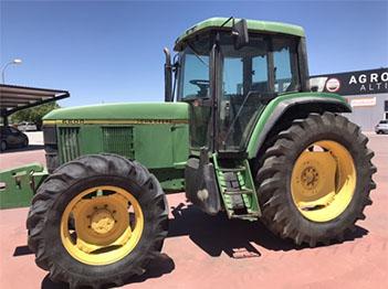 Venta de tractor John Deere 6600 DT de 6 cilindros