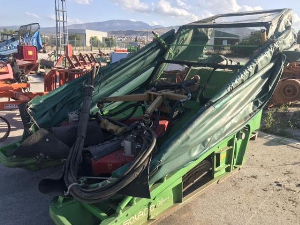 Se vende recolector de almendras delantero Solano Horizonte D 65 muy nuevo